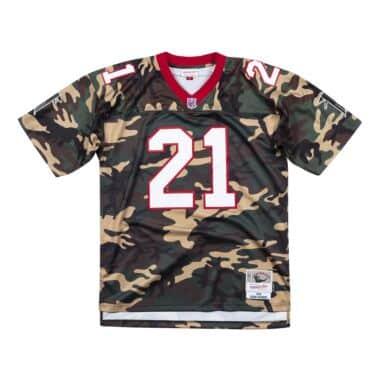 Woodland Camo Legacy Jersey Atlanta Falcons 1992 Deion Sanders f8da1f836