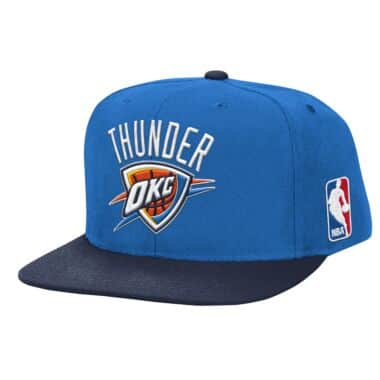 sports shoes 6d325 78c3b inexpensive mitchell ness white royal zipper logo oklahoma city thunder  snapback hat okc 466b3 3c584  coupon for xl logo snapback oklahoma city  thunder ...