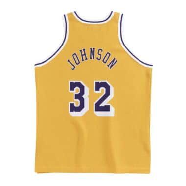785569941 CLOT x M N Knit Jersey Los Angeles Lakers 1984-85 Earvin