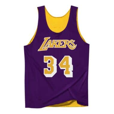 6a59cac6018 Reversible Mesh Tank Los Angeles Lakers Shaquille O Neal