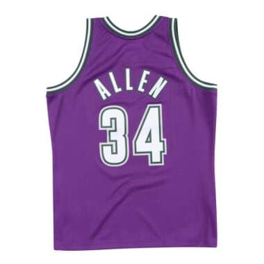 ae202b447c5 Swingman Jersey Milwaukee Bucks Road 2000-01 Ray Allen