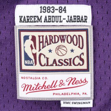 cd39c5aa1b1 Swingman Jersey Los Angeles Lakers 1983-84 Kareem Abdul-Jabbar ...
