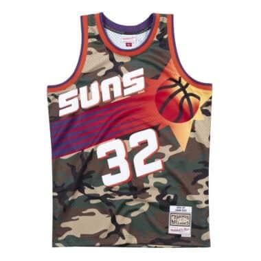 caea3590ff3 Woodland Camo Swingman Jersey Phoenix Suns 1996-97 Jason Kidd