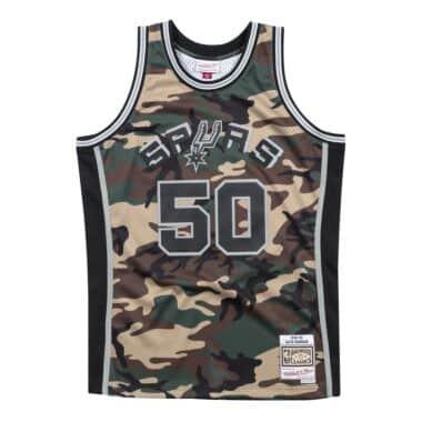 df9aac1e7 Woodland Camo Swingman Jersey San Antonio Spurs 1998-99 David Robinson