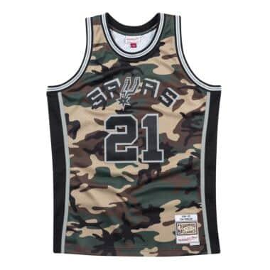d84eff8c Woodland Camo Swingman Jersey San Antonio Spurs 1998-99 Tim Duncan