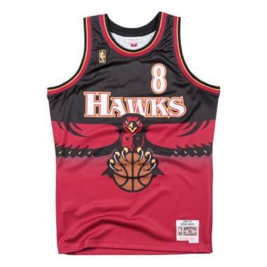 08621302303 switzerland swingman jersey atlanta hawks road 1996 97 steve smith 61fbc  87e83