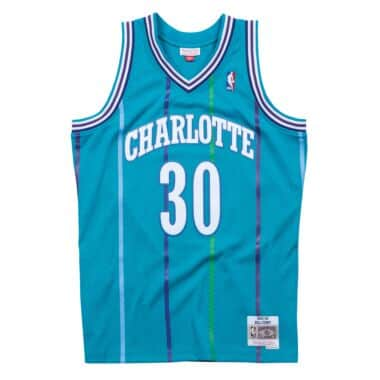 37b408265ae Swingman Jersey Charlotte Hornets Road 1992-93 Dell Curry