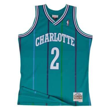 Swingman Jersey Charlotte Hornets Road 1992-93 Larry Johnson d5f6dfa44