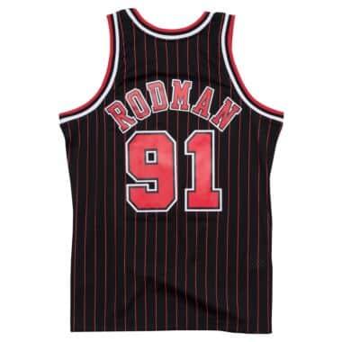 8a92eadac0d Swingman Jersey Chicago Bulls Alternate 1995-96 Dennis Rodman - Shop ...