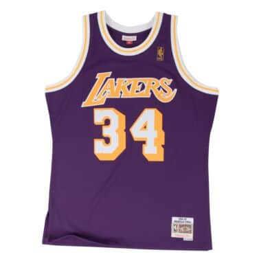 newest collection c8a52 b7f36 Swingman Jersey Los Angeles Lakers Road 1996-97 Shaquille O Neal
