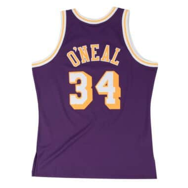 newest collection f103f 4483f Swingman Jersey Los Angeles Lakers Road 1996-97 Shaquille O Neal
