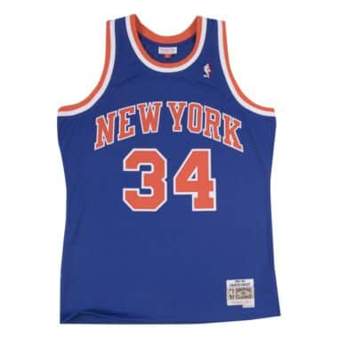 f688c3c5ea61 Swingman Jersey New York Knicks Road 1991-92 Charles Oakley