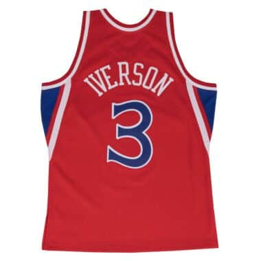 03ef09bb0ff0 Swingman Jersey Philadelphia 76ers Alternate 1996-97 Allen Iverson ...