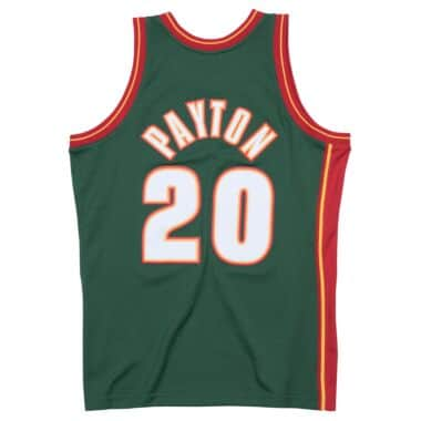 9b1acf18d363 Swingman Jersey Seattle SuperSonics Road 1995-96 Gary Payton