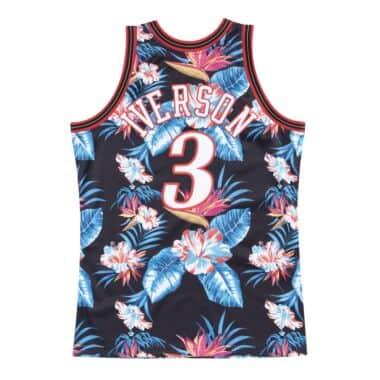 premium selection a4ad7 bd04c Floral Swingman Jersey Philadelphia 76ers 1997-98 Allen Iverson