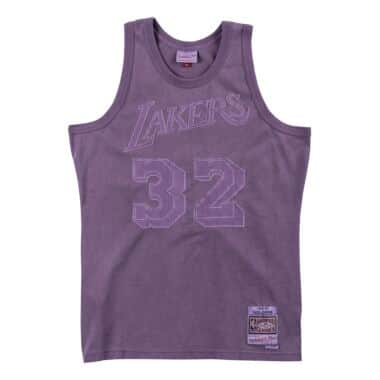 5a4adc611bb Washed Out Swingman Jersey Los Angeles Lakers 1984-85 Magic Johnson