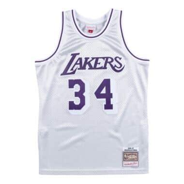 1abdb832f7c Platinum Swingman Jersey Los Angeles Lakers 1996-97 Shaquille O'Neal